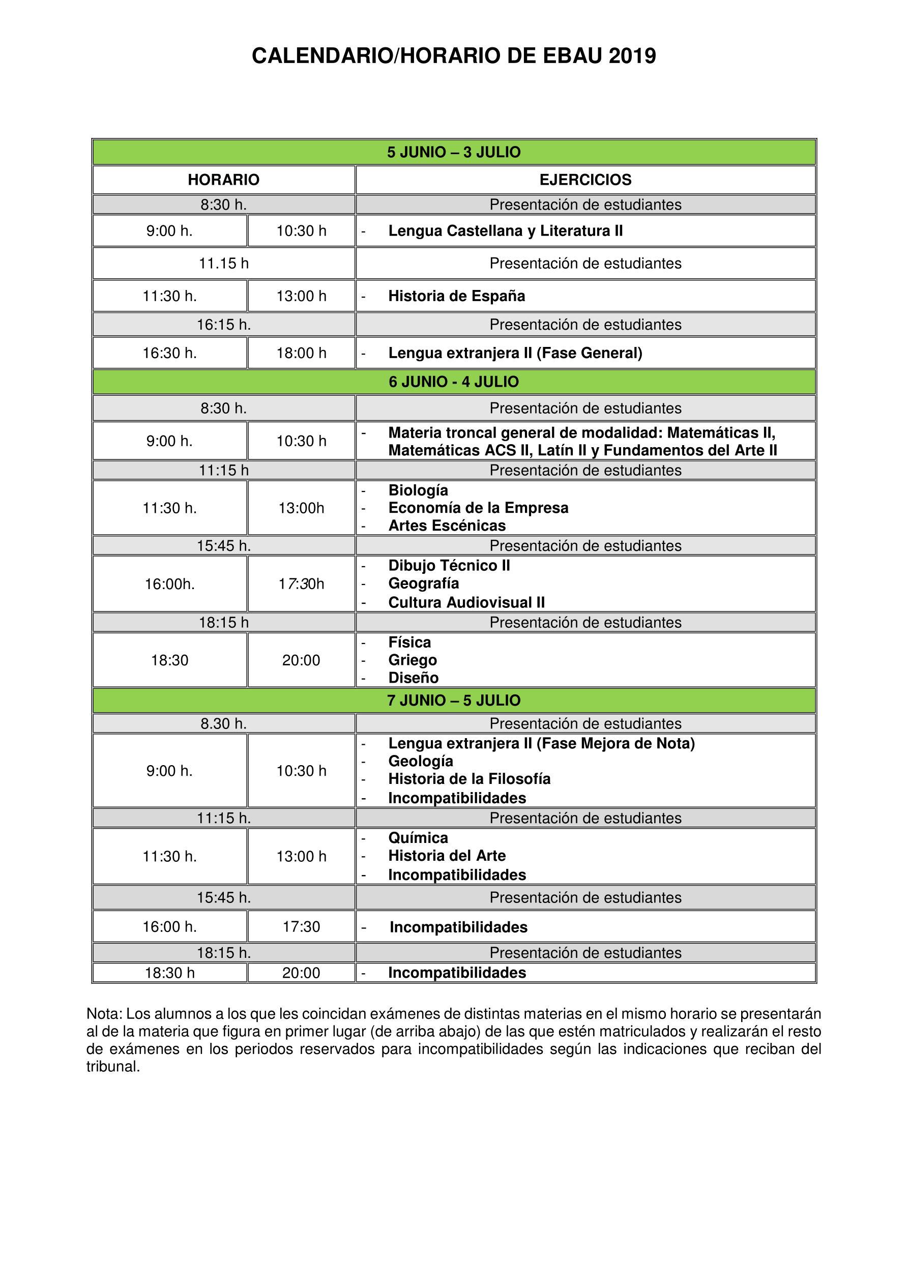 Calendario 2019 Castilla Y Leon.Ebau 2019