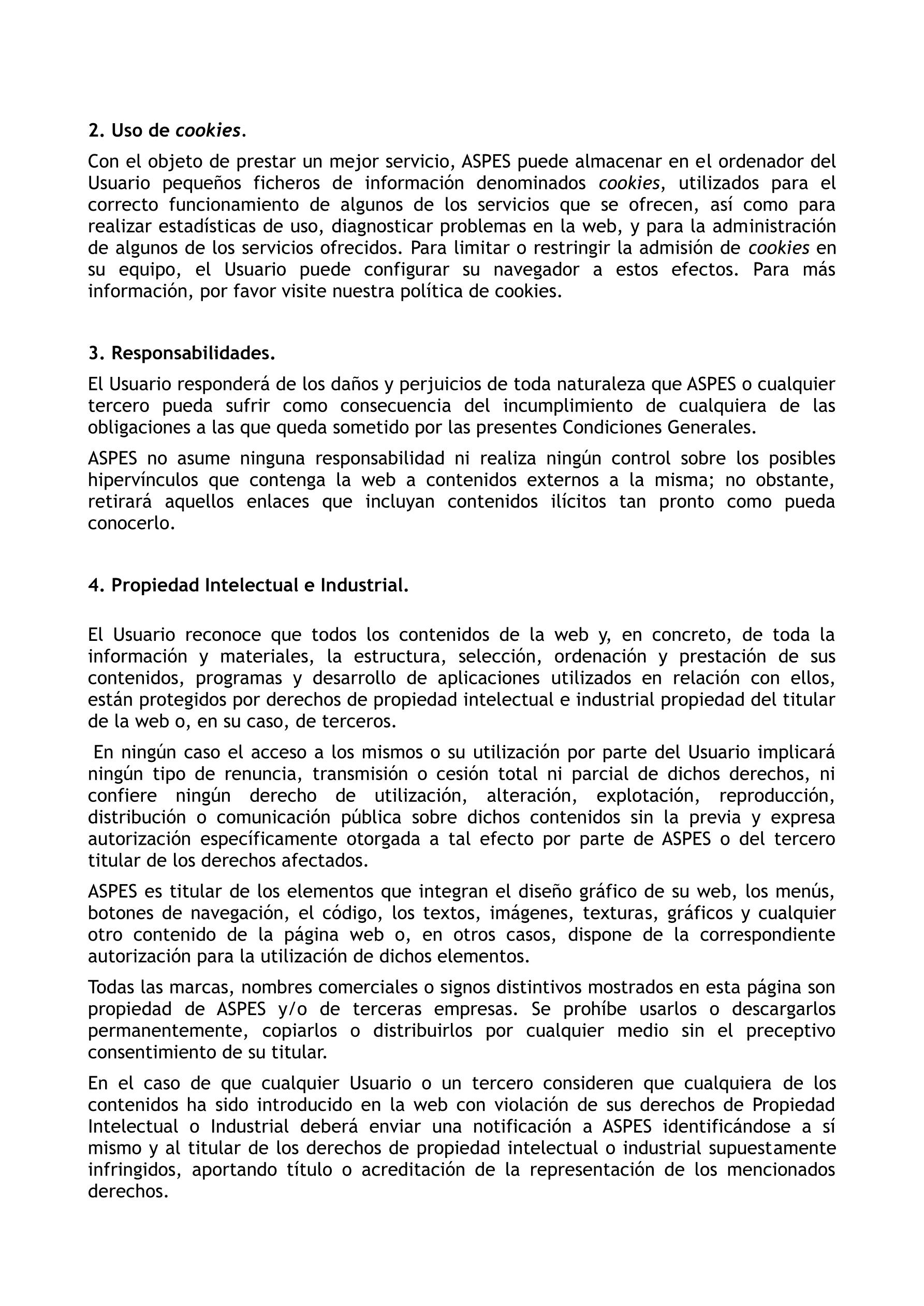 Aviso legal ASPES 2019 2