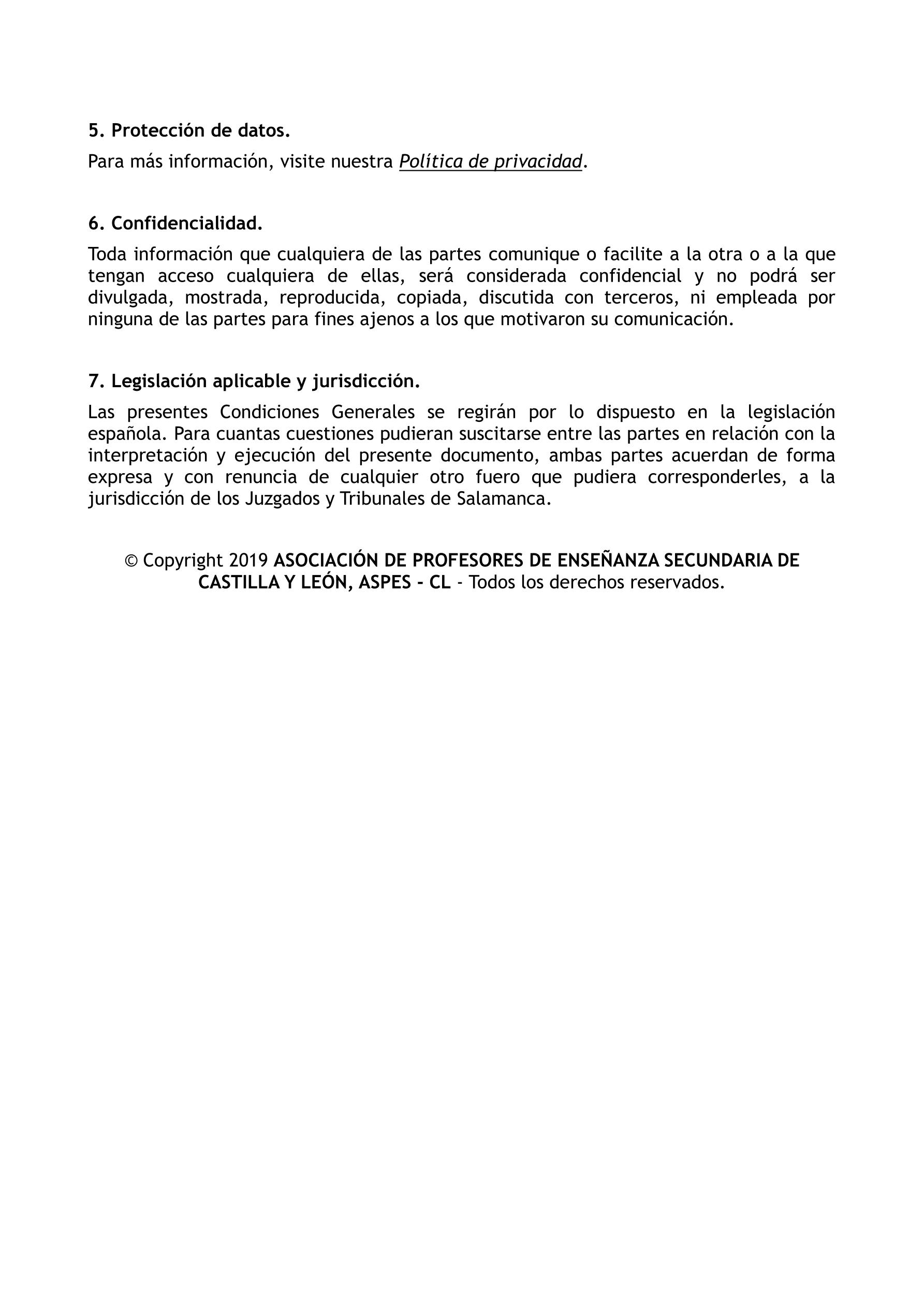 Aviso legal ASPES 2019 3